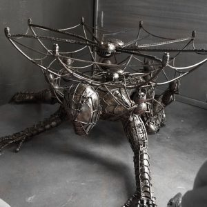 Metal Spiderman Table