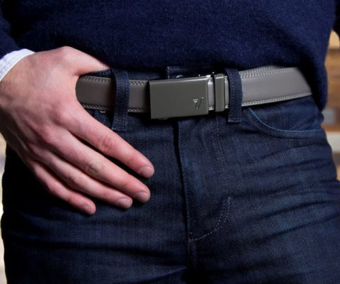 Micro-Adjustable No-Holes Belt