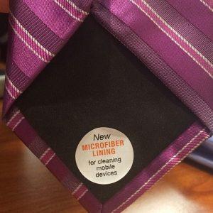 Microfiber Lined Ties