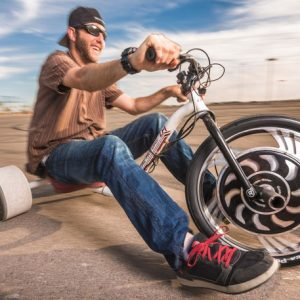 Motorized Drifting Tricycle