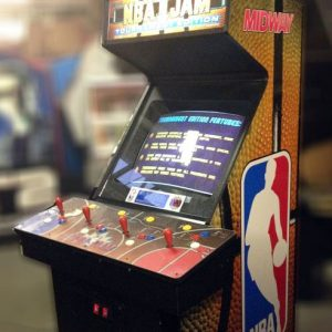NBA Jam Arcade Machine