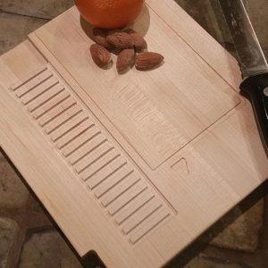 NES Cartridge Cutting Board
