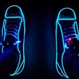 Neon Light Up Sneakers