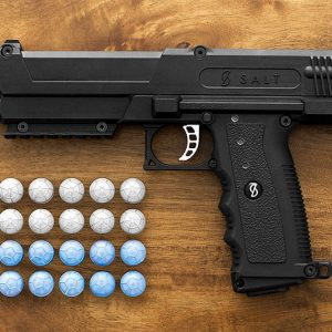 Non-Lethal Salt Firing Self Defense Gun