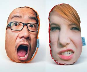 Personalized Face Pillows
