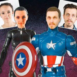 Personalized Superhero Figurines
