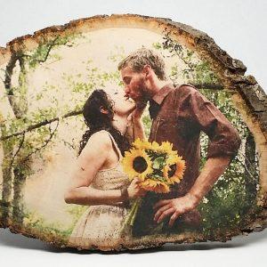 Personalized Wood Photo