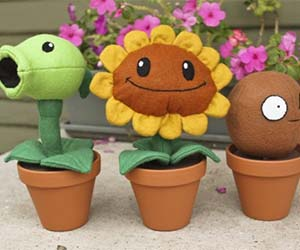 Plants Vs. Zombies Plushies