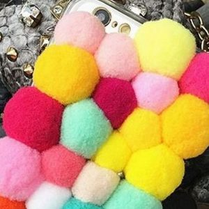 Plush Ball iPhone Case