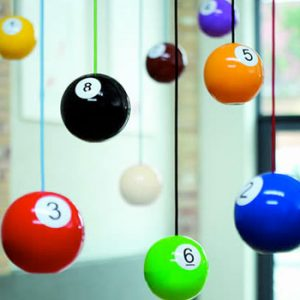 Pool Ball Lights