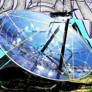 Portable High-Power Solar BBQ Grill