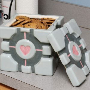 Portal Cube Cookie Jar