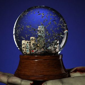 Post Apocalyptic Snow Globe