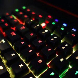 Programmable LED Gaming Keyboard
