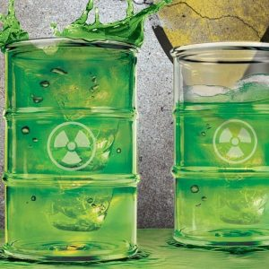 Radioactive Waste Drinking Cup