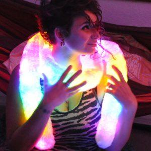 Rainbow Light Up Scarf