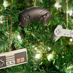 Retro Controller Tree Ornaments