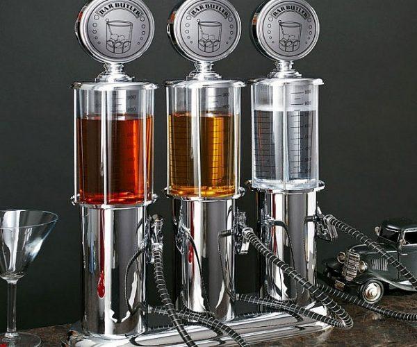 Retro Gas Pump Liquor Dispensers