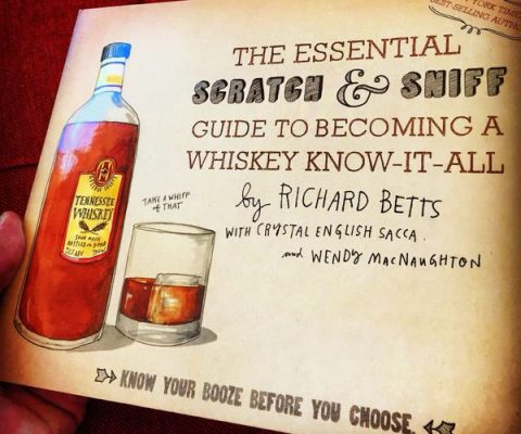 Scratch And Sniff Whiskey Book