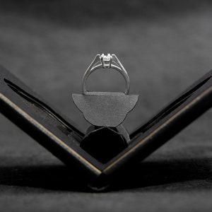 Slim Engagement Ring Case