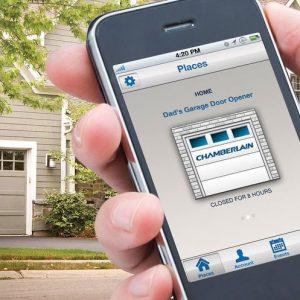 Smartphone Garage Door Remote