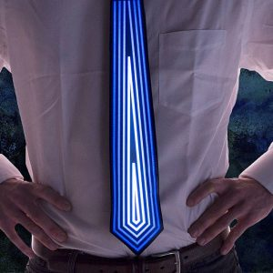 Sound Activated Light Up Tie