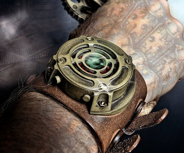 Ring In The Steampunk Decor To Pimp Up Your Home: Steampunk Watch