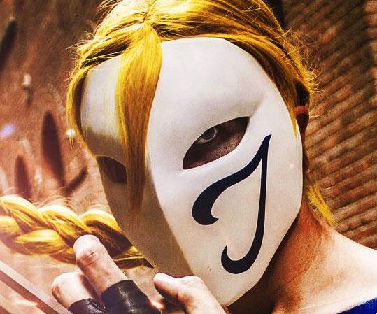Street Fighter Vega Mask