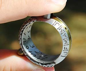 Sundial Ring