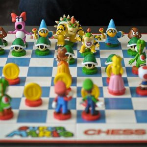 Super Mario Bros Chess Board