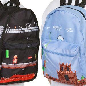 Super Mario Bros Reversible Backpack