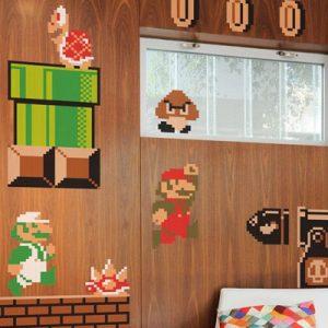 Super Mario Bros Wall Graphics
