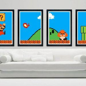 Super Mario Prints
