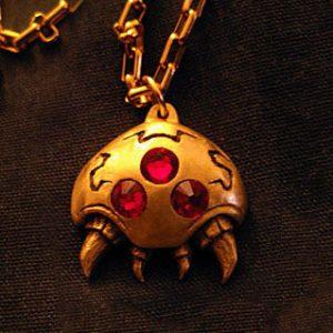 Super Metroid Necklace