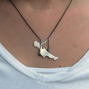 Swinging Girl Necklace