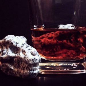 T-Rex Skull Whiskey Stones