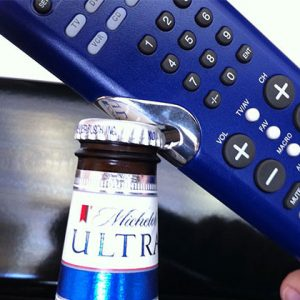 TV Remote Control Bottle Opener