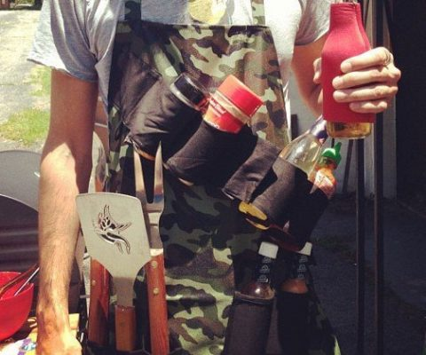 Tactical Camouflage BBQ Apron