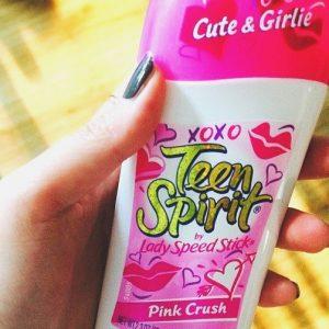 Teen Spirit Deodorant