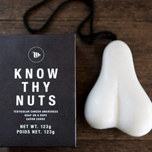 Testicles Shaped Soap On A Rope