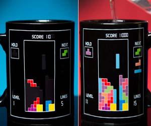Tetris Heat Changing Cup