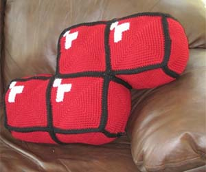 Tetris Pillow