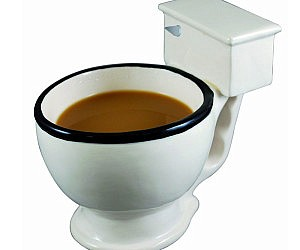 Toilet Bowl Coffee Mug