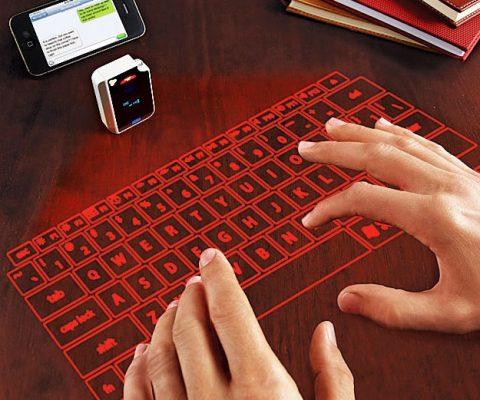 Virtual Infrared Keyboard