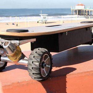 Weight Sensing Skateboard
