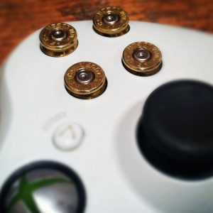 Xbox 360 9mm Bullet Buttons