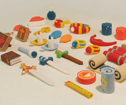 Zelda 3D Printed Items