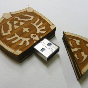 Zelda Hylian Shield USB Drive