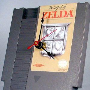 Zelda NES Cartridge Clock