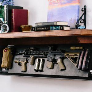 Tactical Firearm Concealment Shelves